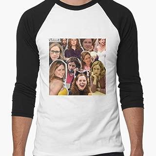 CARMINZ - Pam BeesleyHalpert Jenna Fischer The Office - T-shirt Christmas - Family Christmas Shirt - Merry Christmas Shirt For Women For Man Kid Boy Girl