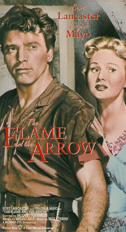 The Flame and the Arrow [VHS]