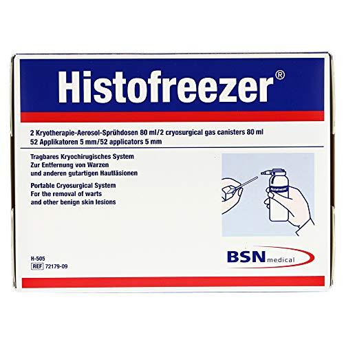 BSN Histofreezer medium Warzenentfernung 2 Dosen à 80 ml + 52 Applikatoren 5mm
