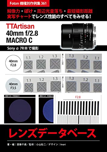 Maishoukougaku TTArtisan 40mm f28 MACRO C Lens Database: Foton Photo collection samples 361 Using Sony a7R III (Japanese Edition)