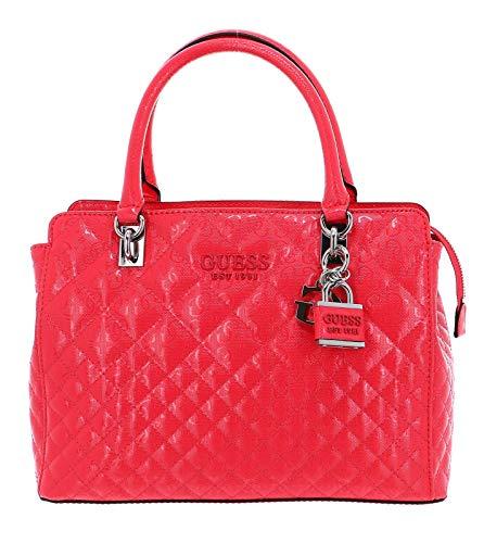Guess Queenie Luxury Satchel Coral