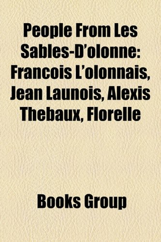 People from Les Sables-Dolonne: Franoi