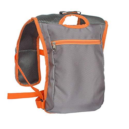 Outdoor Hydration Pack Backpack Running Vest Marathon for Women and Men Orange