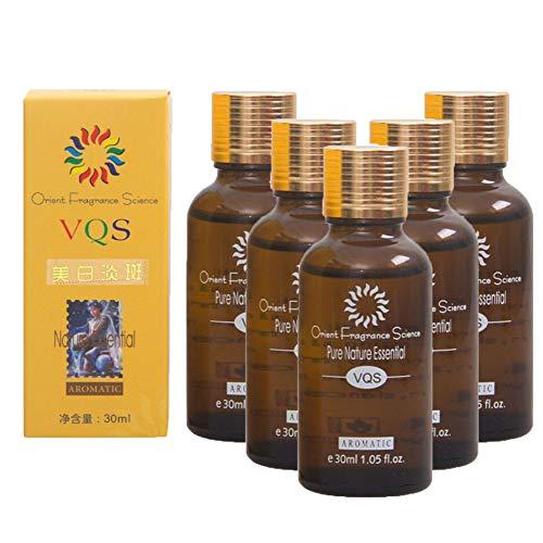 5pcs Ultra Brightening Spotless Oil Skin Care Essence Liquid Remove Ance 30mL