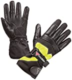 Modeka Freeze Evo Kinder Handschuhe XL Schwarz/Gelb