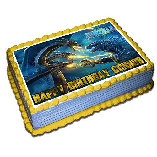Godzilla Birthday Cake Topper
