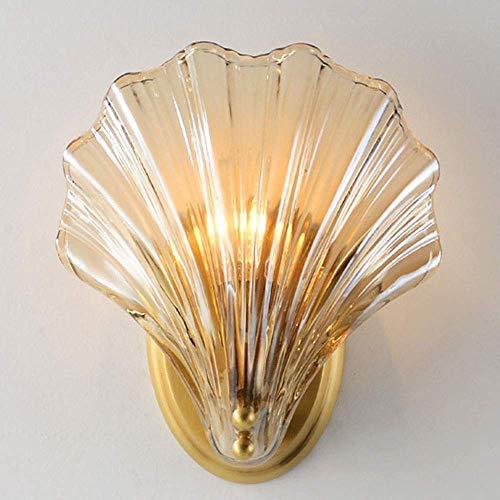 Mkjbd Wandlamp, lantaarn, tuinverlichting, wandlamp, wandlamp, wandlamp, wandlamp, goudkleurig, postmoderne levenslampen, sober, wandlamp, bedlampje Amerika
