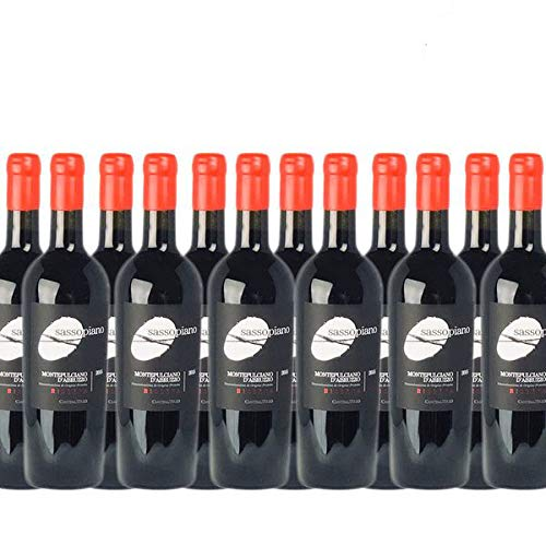 Rotwein Italien Montepulciano d´Abruzzo Riserva Sassopiano trocken (12x0,75l)