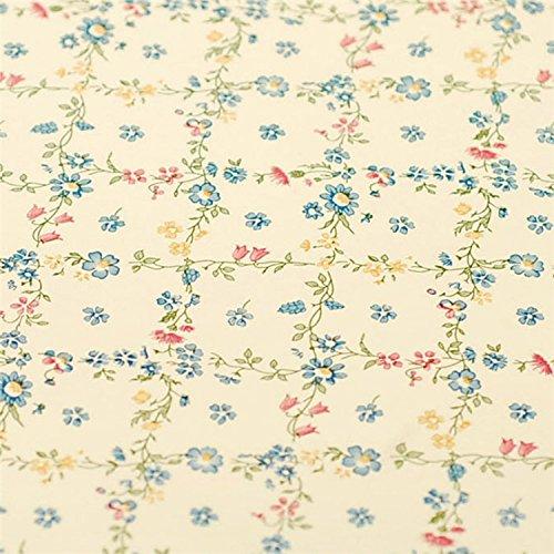 Amarillo Floral Cajón Estante maletero decorativos autoadhesivos vinilo de papel de contacto Cubierta para estantes cajón muebles decoración de pared 45 x 200 cm