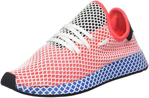 adidas Herren Deerupt Runner Gymnastikschuhe, Rot (Solar Red/solar Red/Bluebird), 37 1/3 EU