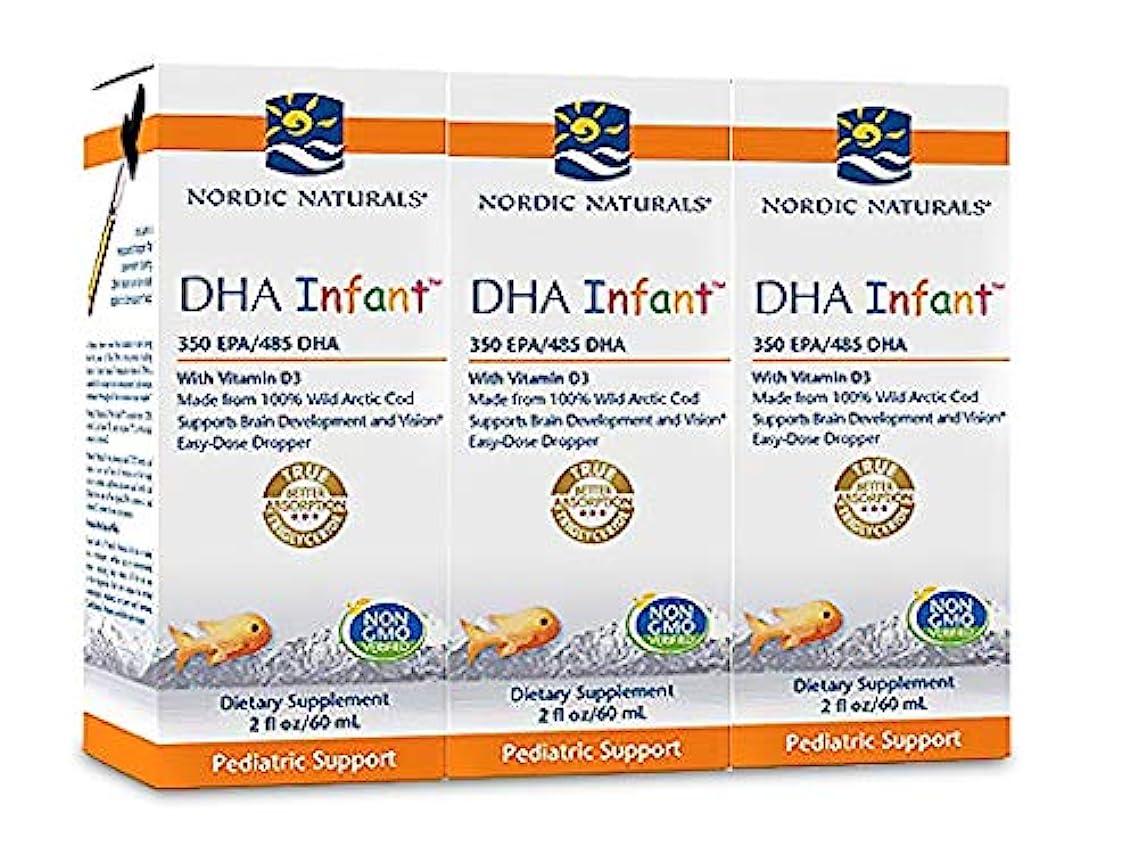 Nordic Naturals - DHA Infant Liquid Pack of 3, 6 Oz Total