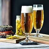 Krosno Pokal Craft Bier-Gläser 0,5 Liter | Set von 6 | 500 ML | Elite Kollektion | Perfekt für Zuhause, Restaurants und Partys | Spülmaschinenfest - 7