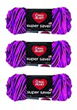 Red Heart E300-3938 Red Heart Super Saver Yarn - Panther Pink