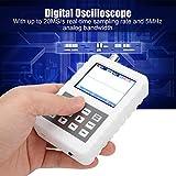 Osciloscopio digital portátil, pantalla LCD DSO FNIRSI PRO 5M 20MSps 5V 2.4 pulgadas, kit de osciloscopio de almacenamiento portátil para las industrias de mantenimiento e investigación y desarrollo