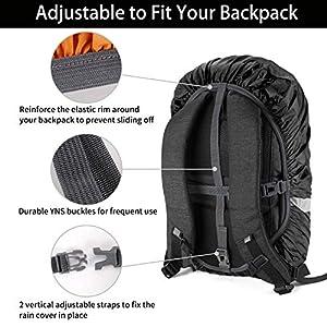5150X8ZQfLL. SS300  - Kasimir Funda para Mochila Cubierta Impermeable de Mochila 15-50L Protectora Funda de Mochila Anti Polvo para Excursionismo Camping, Viajar, Actividades al Aire Libre Caminar