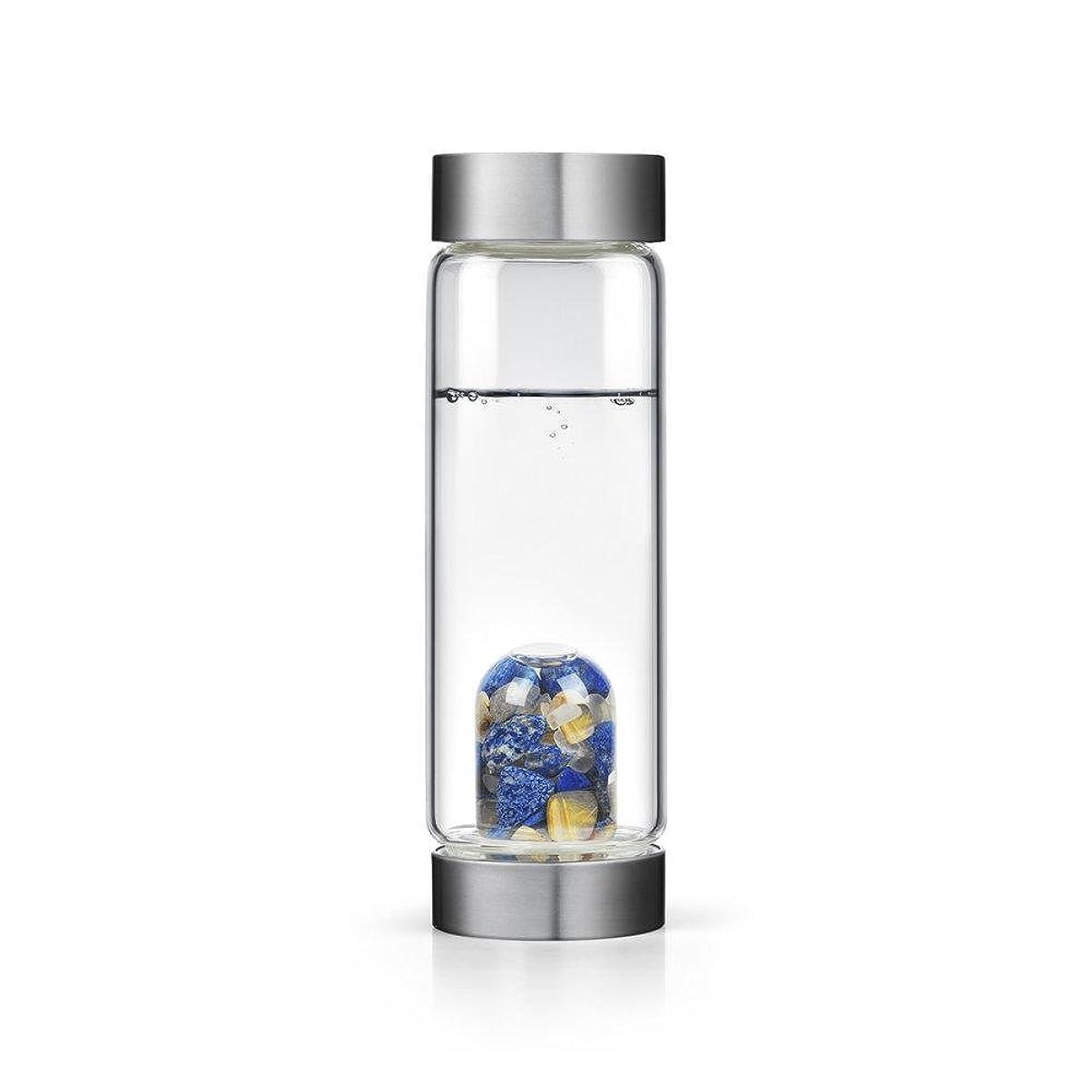 怒ってエトナ山のりインスピレーションgem-waterボトルby VitaJuwel W / Freeカリフォルニアホワイトセージバンドル 16.9 fl oz