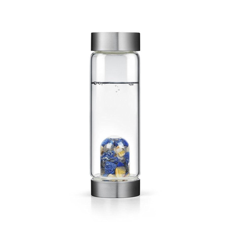 所有者プリーツペグインスピレーションgem-waterボトルby VitaJuwel W / Freeカリフォルニアホワイトセージバンドル 16.9 fl oz