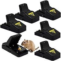 Muis Traps, Muizenval, Muizen Traps, 6 Pack Mouse Traps Voor Binnen Die Kill Onmiddellijk, Knaagdier Trap, Muizen Kill...