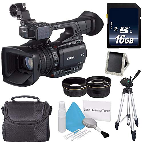 Fantastic Prices! Canon XF200 HD Camcorder (International Model) ES + 58mm 2X Telephoto Lens