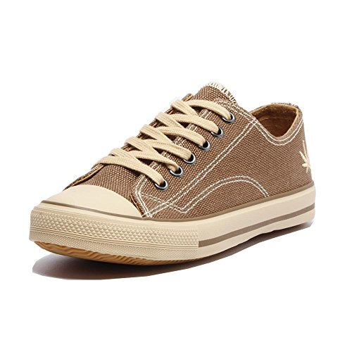 Grand Step Shoes Hanf Sneaker Marley (41 EU, Taupe)