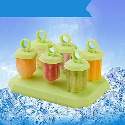 Eisformen,Kreative Eis am Stiel Box Eis am Stiel Form DIY Eisform-C,Eiswürfel