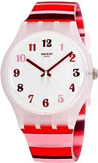 Swatch Tramonto Occaso - SUOK138 Red One Size