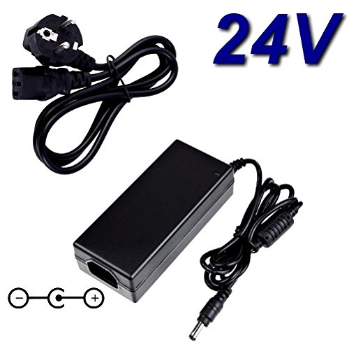 Top Charger * netadapter oplader 24 V voor printer Badge Evolis Zenius