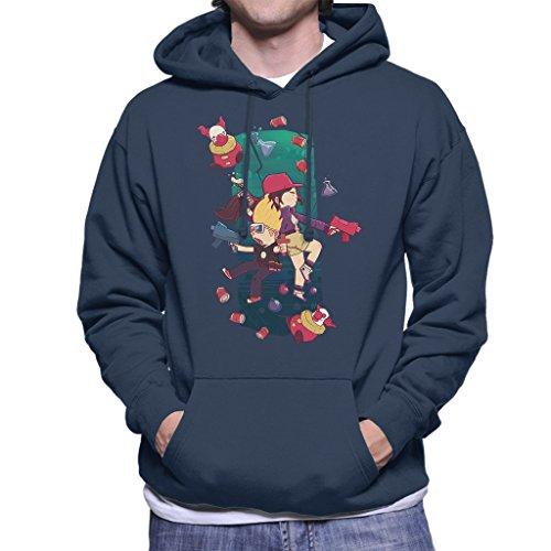Cloud City 7 Zombies Ate My Neighbours Men\'s Hooded Sweatshirt