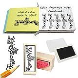 Hautbois étudiant Coffret cadeau (flashcards personnalisables, doigté Tampon en caoutchouc & Pad.)