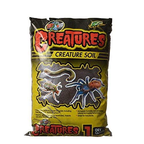 Zoo Med Creatures Creature Soil - 1 qt, Black