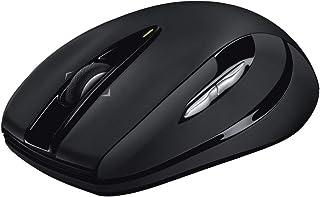 ロジクール ワイヤレスマウス 無線 マウス M546BD Unifying 7ボタン ワイヤレス 小型 電池寿命最大18ケ月 windows M546 ダークナイト 国内正規品