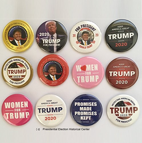 Donald Trump for President 2020 Collector's Set - 2.25 inches
