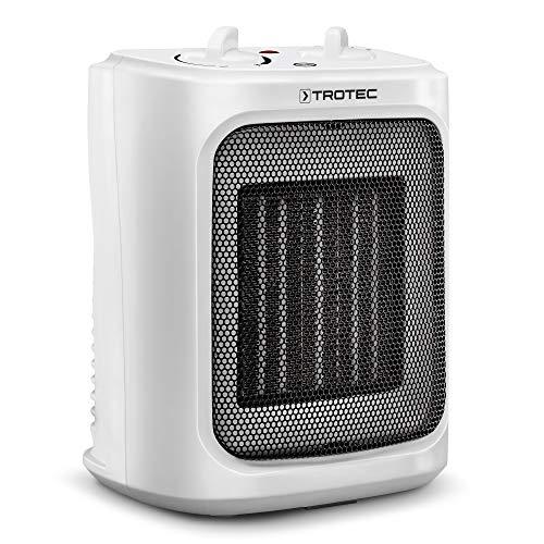 TROTEC TFC 16 E Keramik-Heizlüfter Keramik-Heizung 2.000 Watt Heizleistung für Räume bis 24m² / 60m³