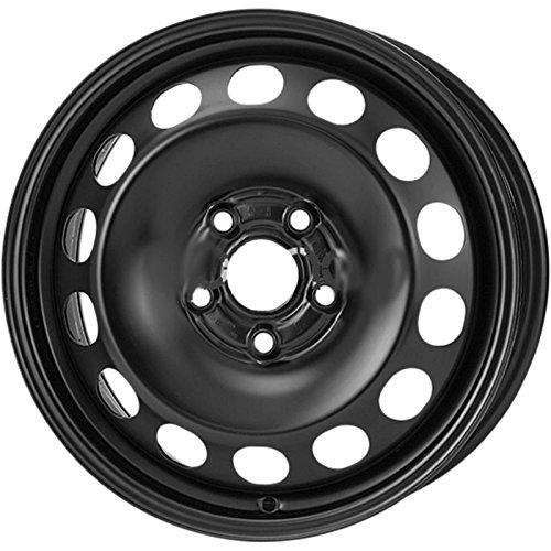 Alcar KFZ AC8667 - Jante en fer 6,5J x 16, 5 x 112, 57 mm, ET 46 - Pour Audi A3 (06/2012 -), Golf VII (12/2012 -) - Noir - Homologation ECE 124R.
