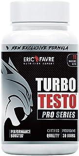 BOOSTER MUSCULATION Turbo Testo Pro Series - Puissance Maximale - Boost les Performances - Puissance, Endurance, Entretien...