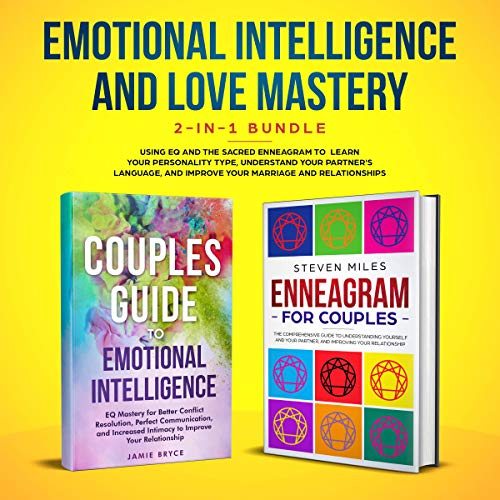 Emotional Intelligence & Love Mastery 2-in-1 Bundle audiobook cover art