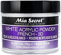 Mia Secret White French - 3D Acrylic Powder 2 Oz