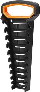 レンチソーターホルダーブラケットスパナオーガナイザー収納トレイソケット壁掛け工具レンチ整理用セルフロック機能(10pcs)