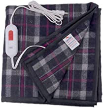 DB-B6 Derby Electric Blanket for Double Bed (Multicolour, 60x60 Inches)