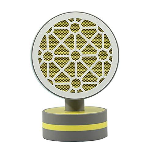 Nuevo Handy Heater,Calefactor Portátil Mini Estufa Eléctrica Instant Heater Termoventilador Bajo Consumo Adaptador Giratorio Calefactor Electrico 500W Eléctrico Calefactor Calentar ( Color : Yellow )