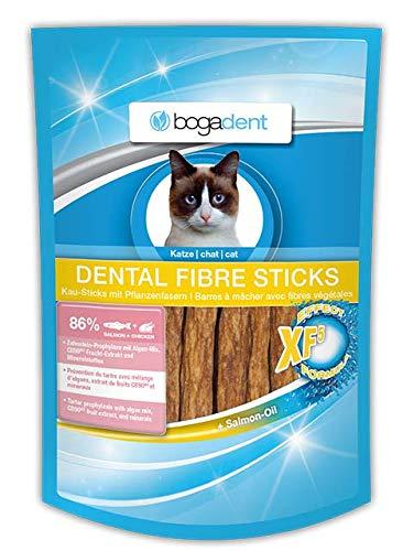 Bogadent Dental Fibre Sticks Lachs Katze, 50 g