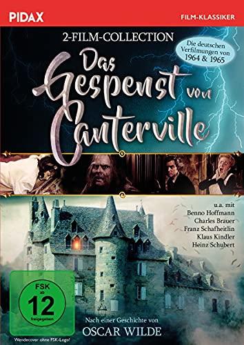 Das Gespenst von Canterville - 2-Film-Collection / Die deutschen Verfilmungen aus den 60igern (Pidax Film-Klassiker)