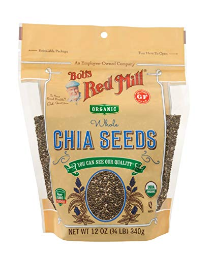 Bob's Red Mill Organic Chia Seeds, 12-ounce