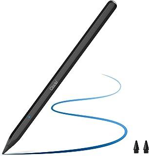 タッチペン iPad ペンシル Ciscle iPad ペン 極細 高感度 傾き感知機能 パームリジェクション機能 磁気吸着 持ちやすい 滑りにくい 5分自動オフ 磁気充電 遅延なし 2018-2021年iPad/iPad Pro/iPad a...