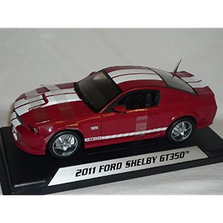Shelby Ford Mustang 2011 Gt350 Gt 350 Rot Weisse Streifen 1 18 Collectibles Modellauto Modell Auto Spielzeug