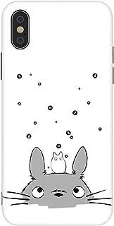 Rusiya iPhone case Anime Manga Cool 11 Designs Figure Japanese IMD TPU Pattern Anti-Scratch Anti-Finger Soft Slim Shockproof Flexible Cover Case (Totoro 1, iPhone 7/8)