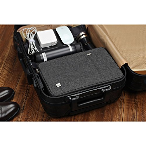 NIDOO 15.6 Zoll Wasserdicht Laptop Sleeve Case Notebook Hülle Schutzhülle Tasche Laptoptasche für 15.6