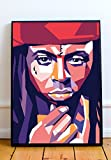 Wayne Limited Poster Artwork - Professional Wall Art Merchandise (More Sizes Available) (8x10)