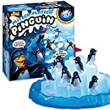 Ravensburger Kinderspiel 21325 - Plitsch Platsch Pinguin - großer Spielspaß mit Geschicklichkeitsfaktor für Kinder und Erwachsene - Spiele-Klassiker für 1-5 Spieler ab 4 Jahren