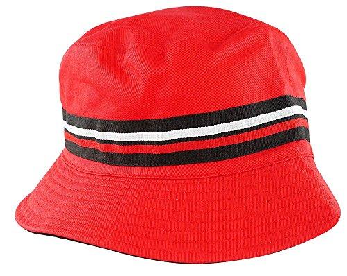 Fila Men's Heritage Basic Comfort Bucket Hat L, XL Red